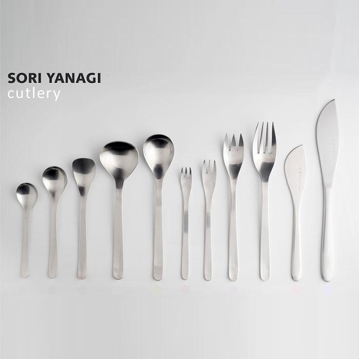 [Sori Yanagi] 소리야나기 커트러리 32종 택1 스테인레스 커트러리 #1250