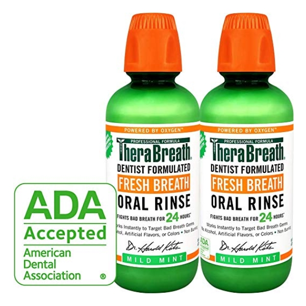 TheraBreath – Fresh Breath Oral Rinse / 908g