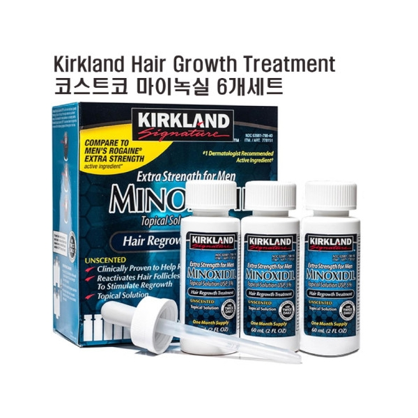 [kirkland] Hair packs Kirkland Signature Hair Regrowth Treatment