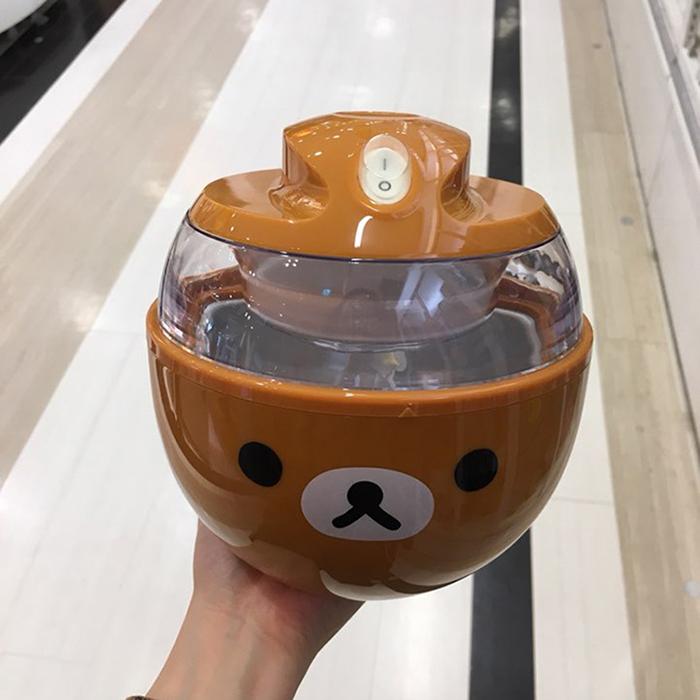 카이지루시 아이스크림 메이커 리락쿠마 브라운 DN0214