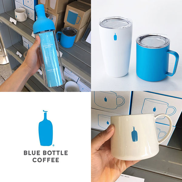 [BLUE BOTTLE] Japanese blue bottle popular collection (tumbler / eco bag / coffee powder / mug)