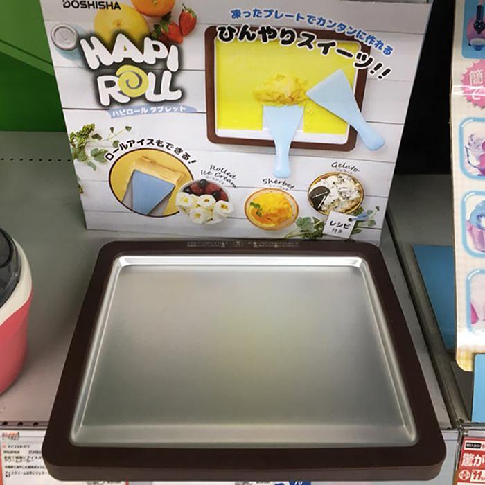 도시샤 해피롤 태블릿 아이스크림 메이커 DHRL18