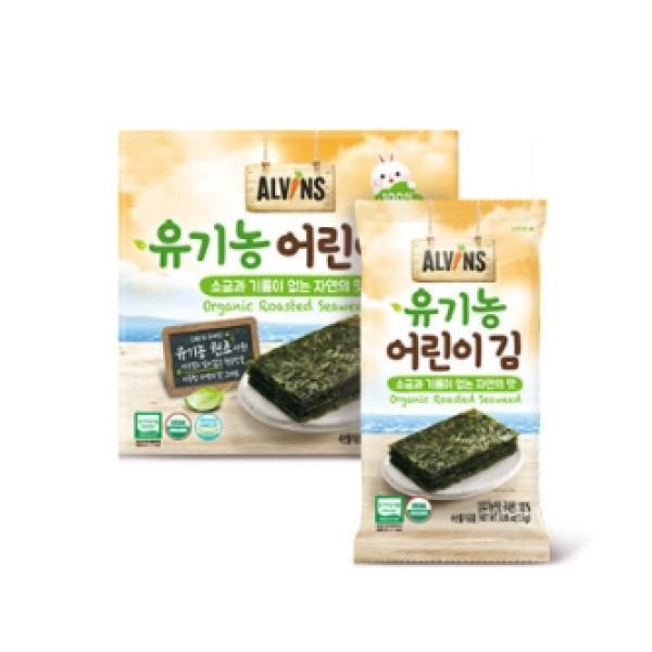 어린이 김(소금과 기름이 없는 자연의 맛) <구운김> / 익일배송