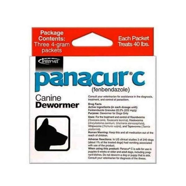 파나쿠어C 강아지구충제  4g x 3팩