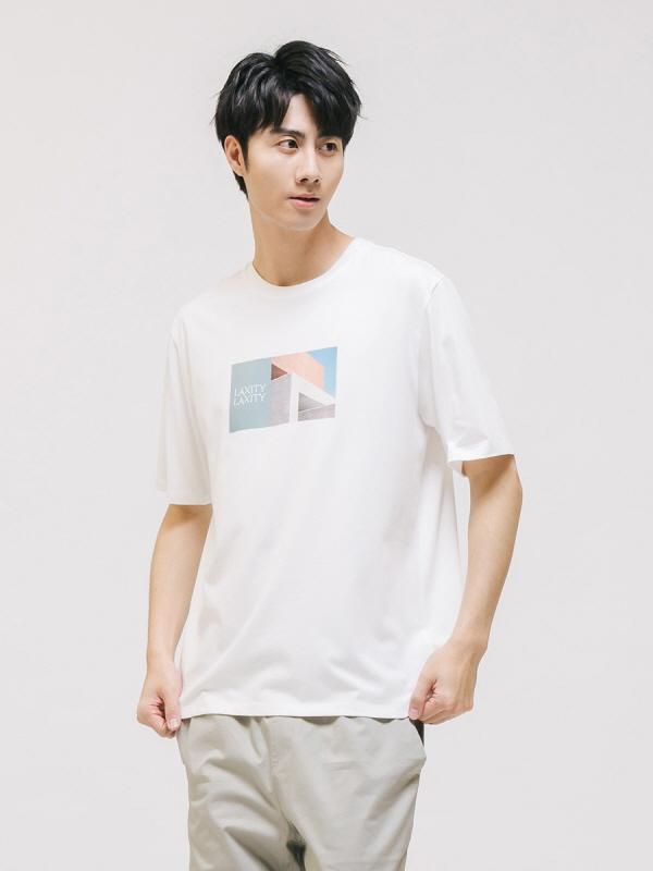 실켓 크루넥 숏 슬리브 티셔츠(30270-031-404-05)