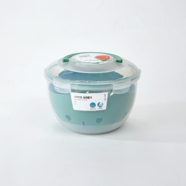 수박반통 보관용기 6L [KC0420034]