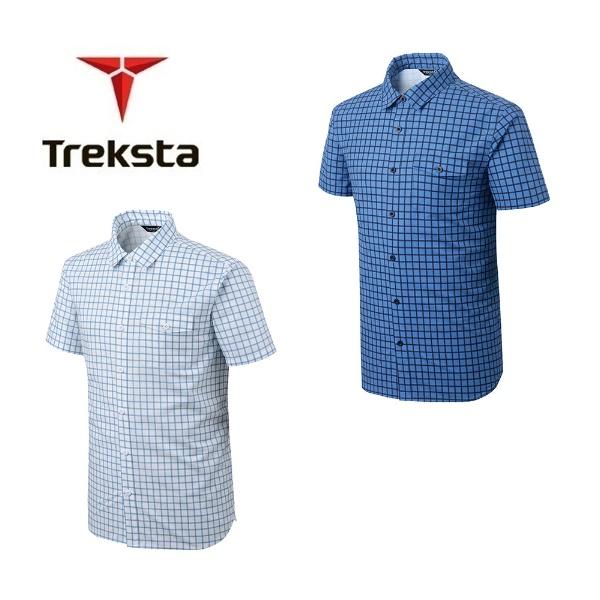 남성 기능성 아웃도어 스판 캐쥬얼 체크 셔츠 렉터 PM-TS45