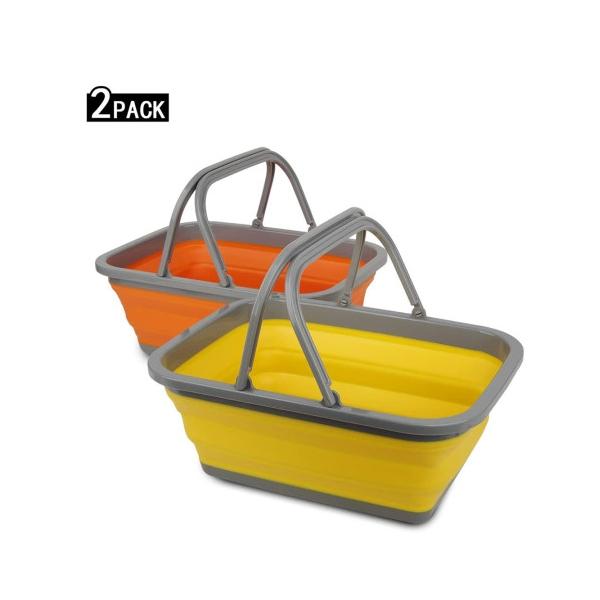 Tiawudi 접이식바구니 캠핑 수납가방 설거지 세면대 차박용품