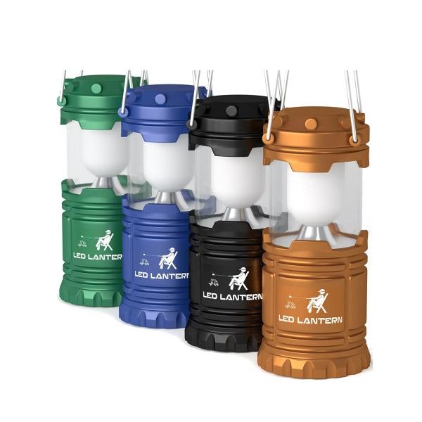 [ 4개세트 ] MalloMe Lumen Lamp 말로미 LED 캠핑랜턴 휴대용 야외 플래시 차박용품
