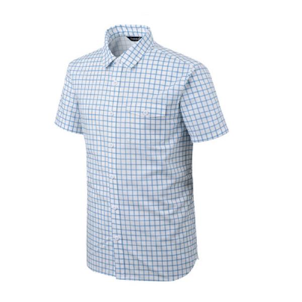 남성 기능성 아웃도어 스판 캐쥬얼 체크 셔츠 렉터 PM-TS45011