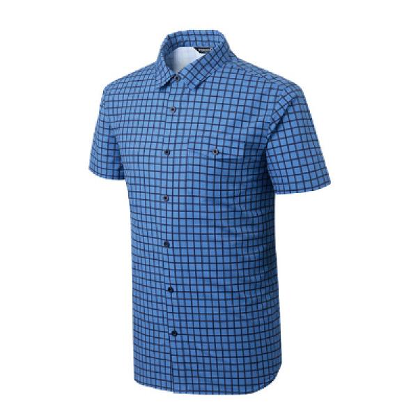 남성 기능성 아웃도어 스판 캐쥬얼 체크 셔츠 렉터 PM-TS45661