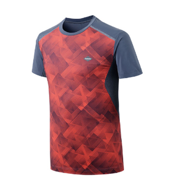 남성 통풍성 굿! 기능성 스포츠 라운드 티셔츠 헤모수 PM-TS73101